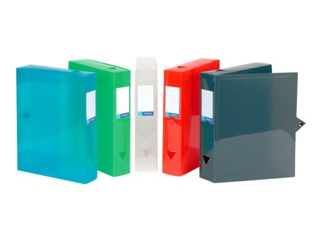 Viquel Propyglass CLASS DOC - Boîte de classement - Dos 60 mm - 245 x 330 mm - couleurs assorties 1