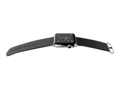 X-Doria Lux - Bracelet de montre pour Apple Watch - 42 mm - noir