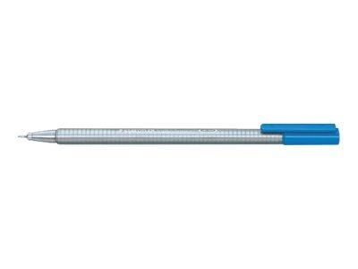 STAEDTLER triplus - Feutre fin - bleu eau - 0.3 mm - très fin