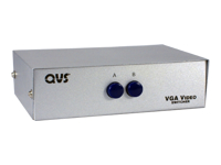 QVS SureGrip HD15 VGA/SXGA Manual Switch