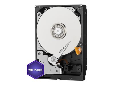 WD Purple Surveillance Hard Drive WD20PURX - Pevný disk - 2 TB - interní - 3.5