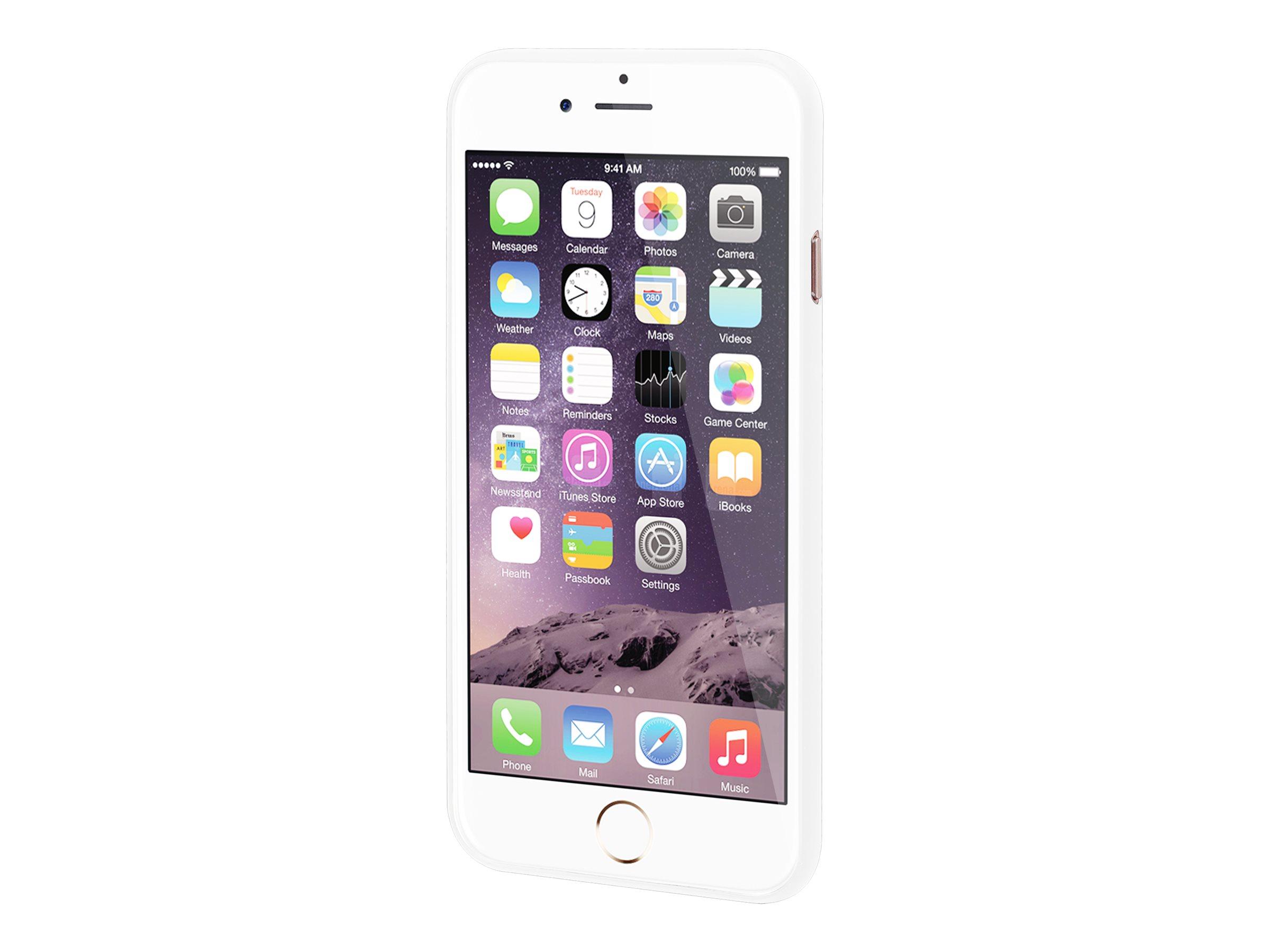 Muvit Card Case - Coque de protection pour smartphone - blanc - pour iPhone 7
