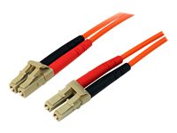 STARTECH - CABLE StarTech.com Multimode 50/125 Duplex Fiber Patch Cable LC50FIBLCLC30