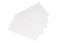 Evolis - Wood fiber - 30 mil - blank white - CR-80 Card (3.37 in x 2.13 in) 500 card(s) box - cards - for Edikio Flex; Evolis Primacy, Zenius