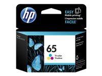 HP 65 - Dye-based tricolor - original - blister - ink cartridge - for Deskjet 3720, 3721, 3722, 3723, 3733, 3752, 3755, 3758