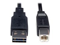 Tripp Lite Universal Reversible USB 2.0 Hi-Speed Cable
