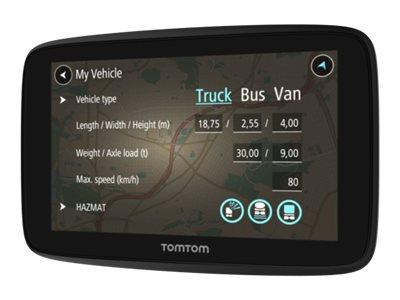 Compumail Aps Bilnavigation Tomtom Go Professional 520