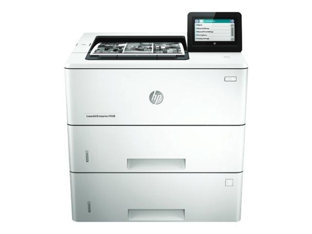 Image of HP LaserJet Managed M506xm - printer - monochrome - laser