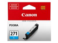 Canon CLI-271C - Cyan - original - ink tank - for PIXMA MG5720, MG5721, MG5722, MG6821, MG6822, MG7720, TS5020, TS6020, TS8020, TS9020