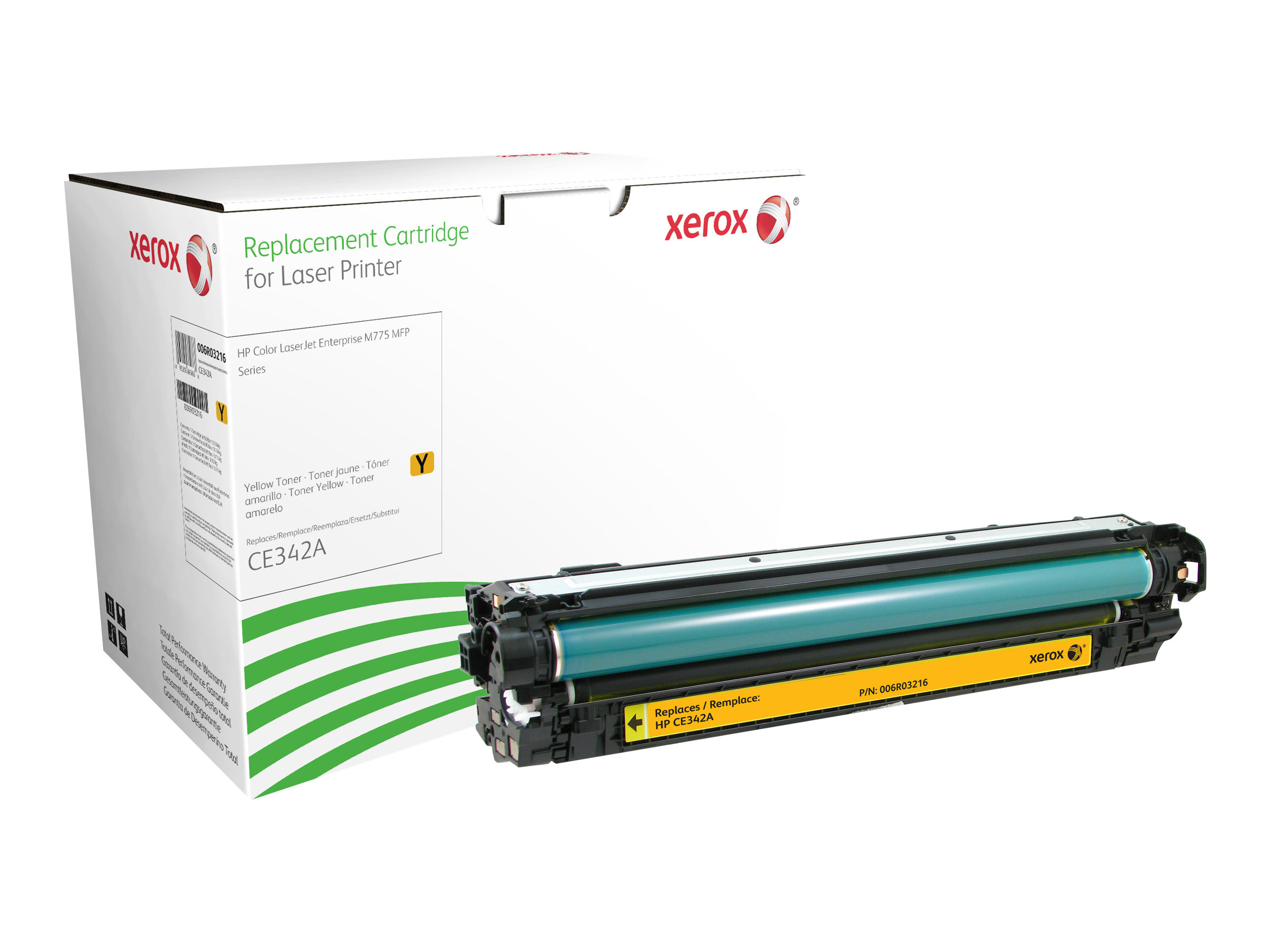 Xerox - jaune - cartouche de toner (alternative pour: HP CE342A)