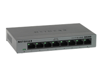 NETGEAR GS308 Switch ikke administreret 8 x 10/100/1000 desktop