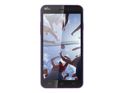 Wiko Lenny - violet/corail - 3G HSPA+ - 4 Go - GSM - smartphone