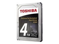 "TOSHIBA 4TB 3.5""SATA 7200 RPM X300 RETAIL BOX (NO BULK)"