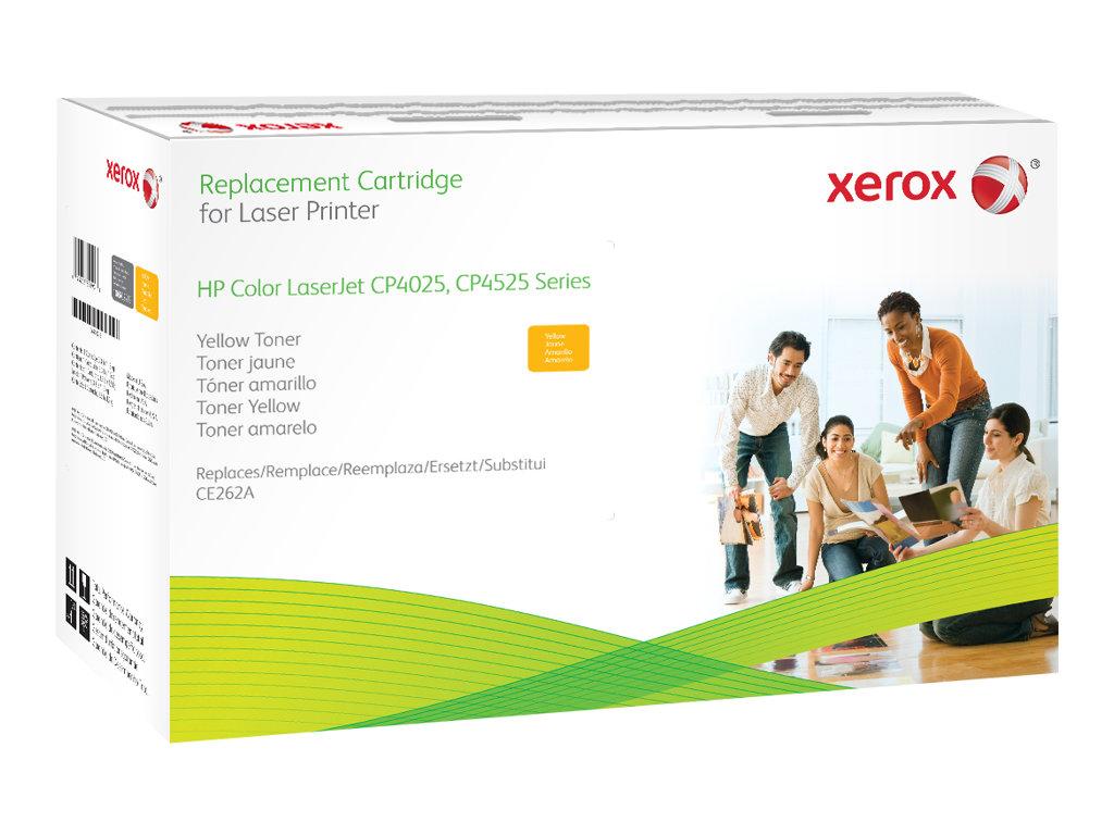 Xerox - jaune - cartouche de toner (alternative pour: HP CE262A)