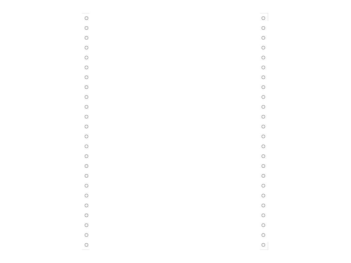Exacompta - Papier en accordéon - blanc - 240 x 305 mm - 70 g/m² - 2000 feuilles