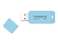Integral Europe Cl�s USB INFD16GBPASBLS3.0