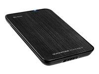 Quickstore Portable, USB box pro 2.5´´ SATA HDD, erný