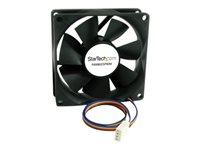 StarTech.com Ventilateur d'Ordinateur 80 mm avec PMW - Connecteur à Modulation d'Impulsion en Duree