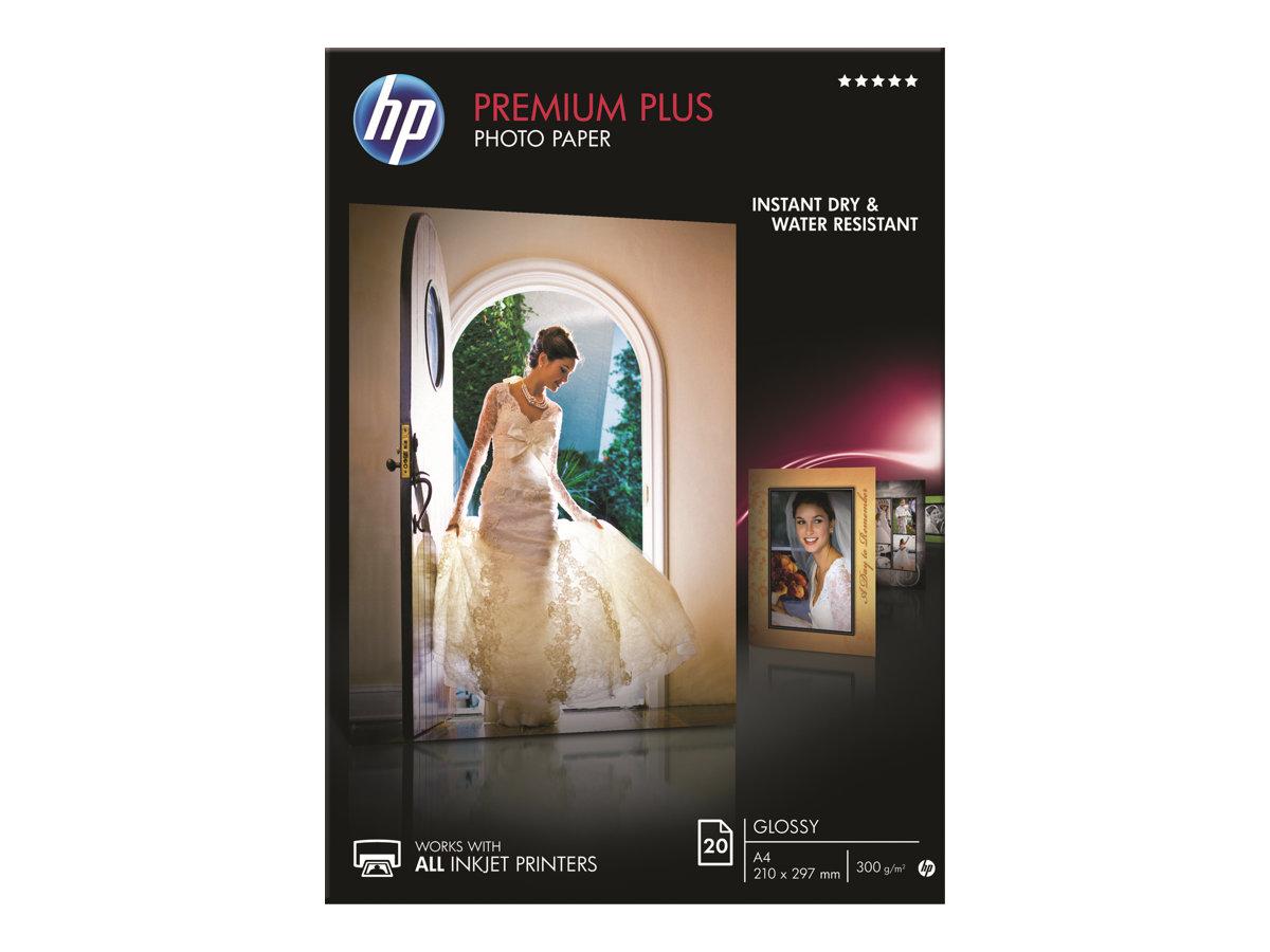 HP PREMIUM PLUS PAPEL FOTOGRAFICO BRILLANTE A4 210