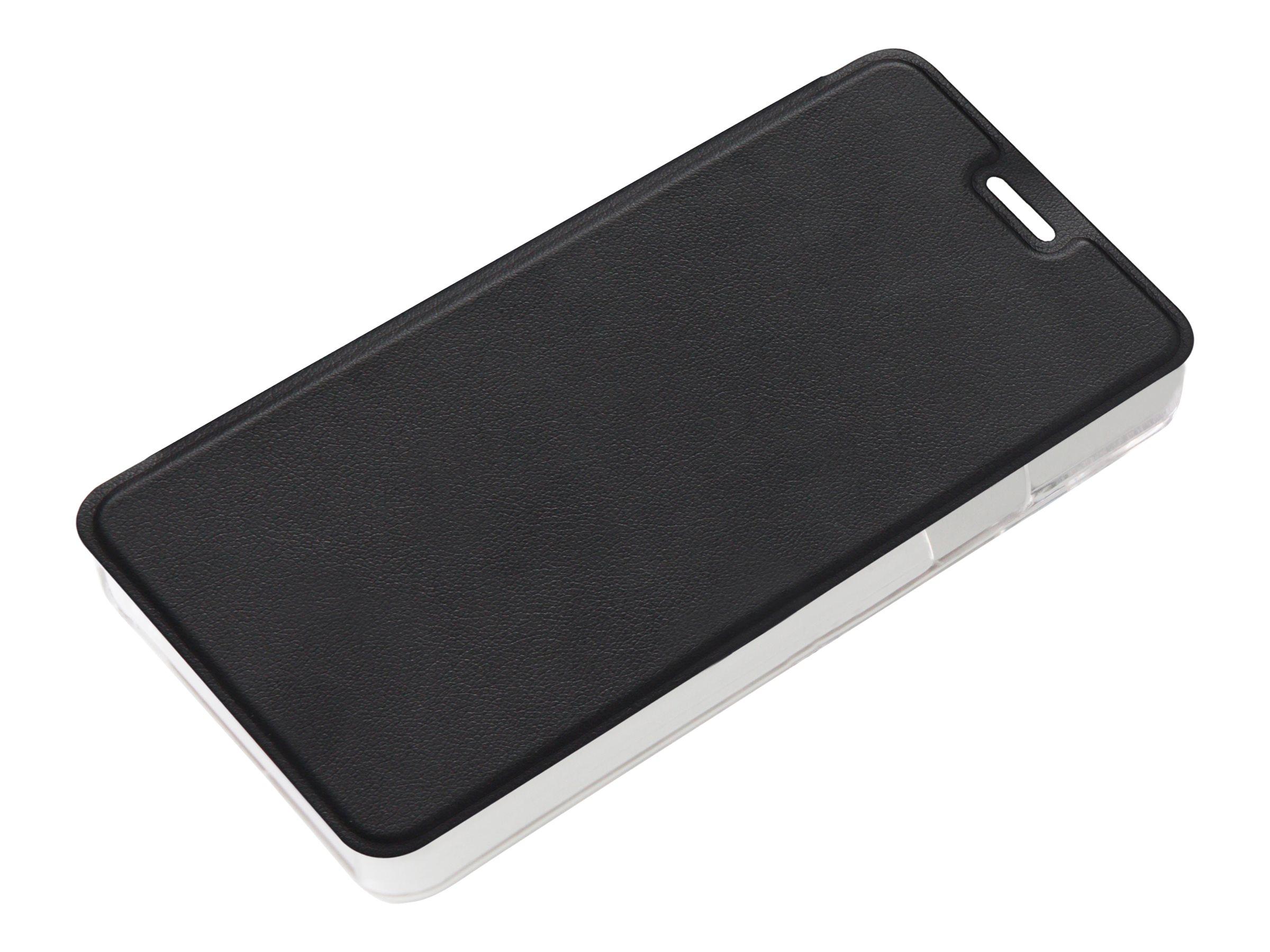 Muvit Folio - Protection à rabat pour Samsung Galaxy A3 - noir