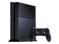 Sony PlayStation 4 Spilkonsol  500 GB HDD jet black