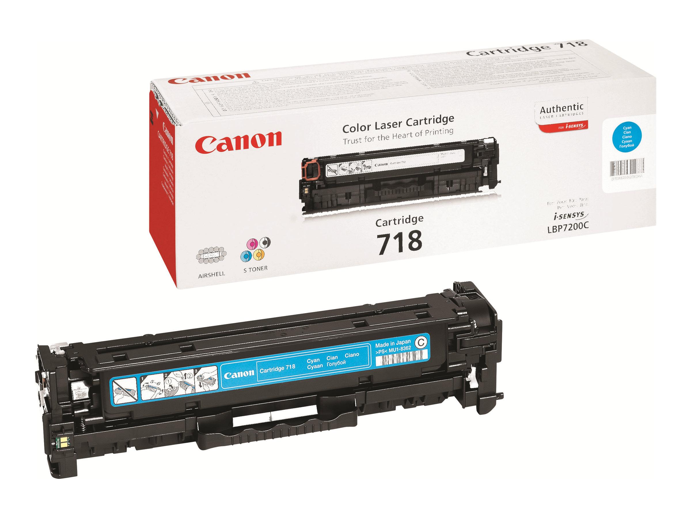 Canon 718 - cyan - original - toner
