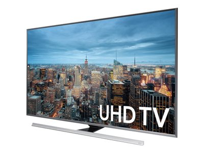 "Samsung UN75JU7100F - 75"" Class (74.5"" viewable) - 7 Series 3D LED TV - Smart TV - 4K UHD (2160p) 3840 x 2160 - local dimming, UHD dimming, Precision Black Local Dimming - black"