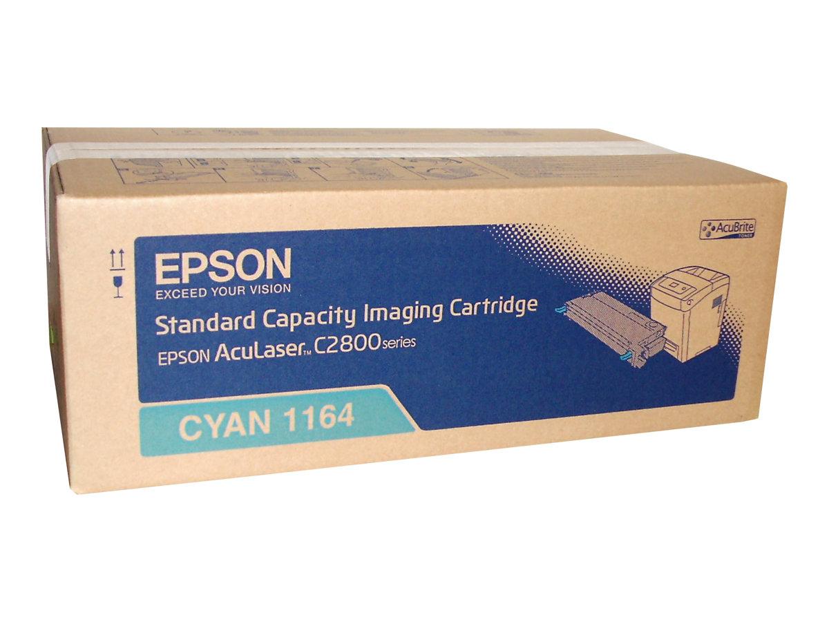 Epson 1164 - cyan - originale - cartouche de toner