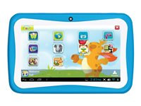 "Supersonic Munchkins SC-774KT - Tablet - Android 4.4 (KitKat) - 4 GB - 7"" (1024 x 600) - USB host - microSD slot - blue"