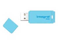 Integral Pastel - clé USB - 8 Go