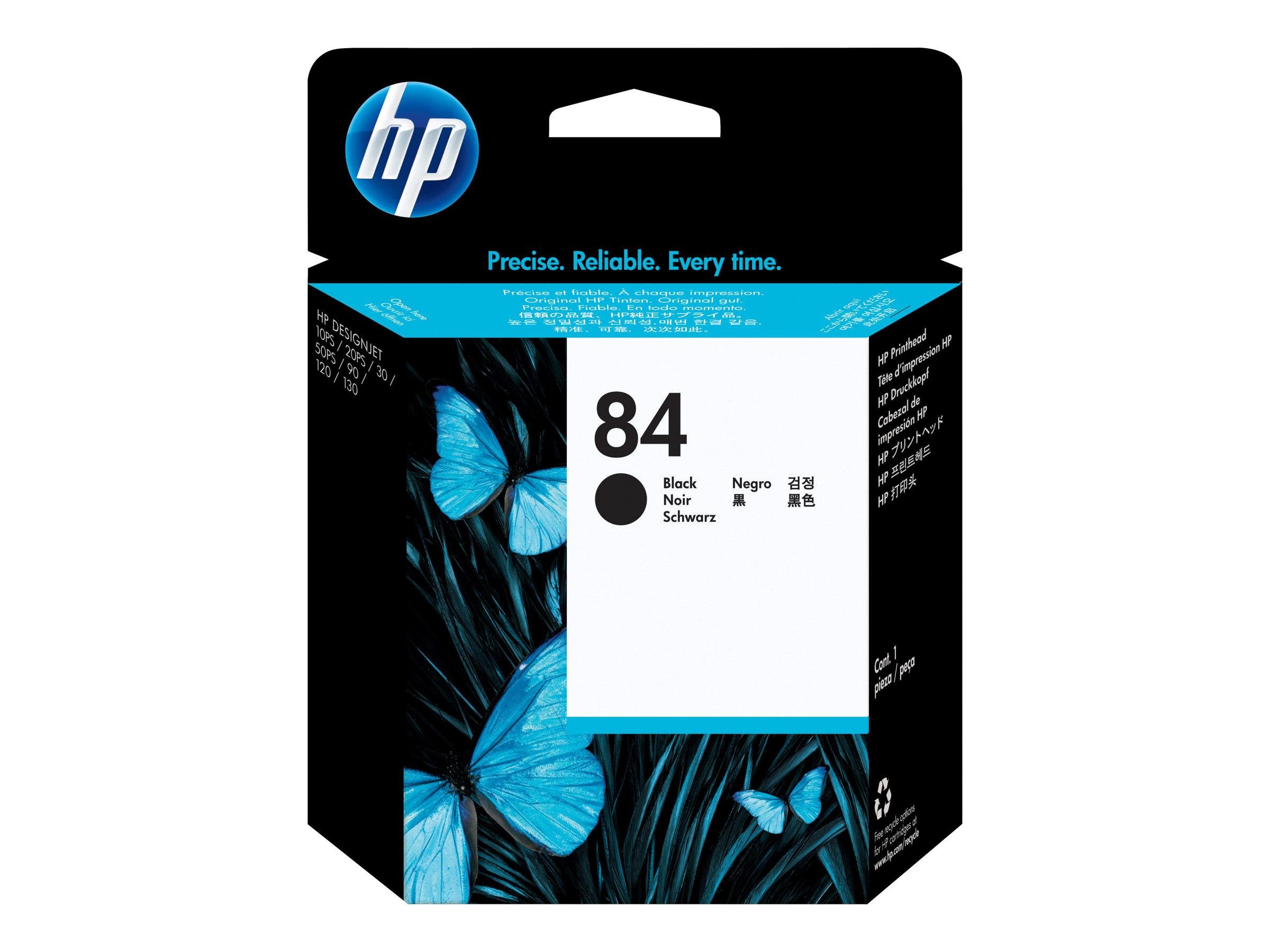 HP 84 - noir - tête d'impression