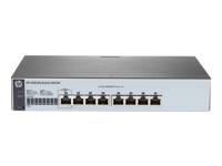 HPE 1820-8G - commutateur - 8 ports - Géré - Ordinateur de bureau, Montable sur rack