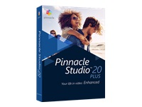 Pinnacle Studio Plus (v. 20) bokspakke 1 bruger Win Multi-Lingual