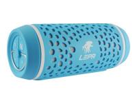 LEPA BTS02 Højttaler til transportabel brug Bluetooth, NFC 8 Watt blå