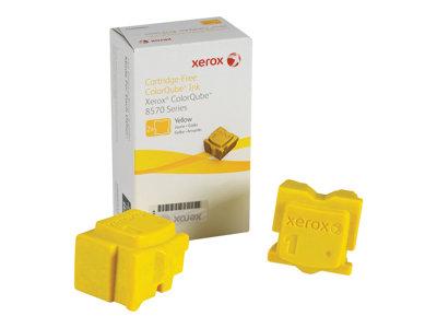 Xerox - 2 - amarillo - tintas sólidas