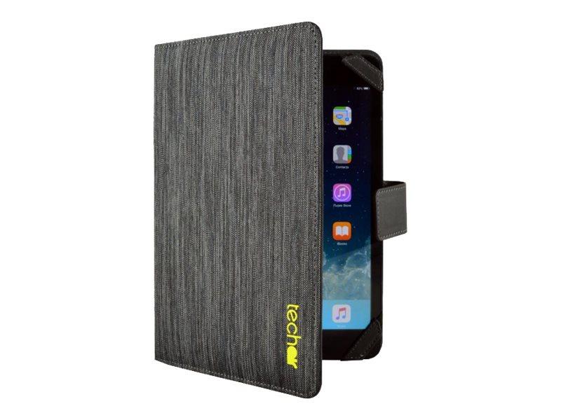 Tech air Universal - Protection à rabat pour tablette universel 7 pouces- noir texturé