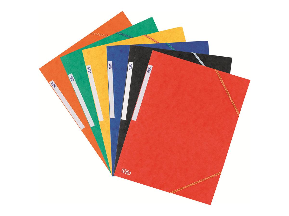 ELBA TOPFILE - Chemise à 3 rabats - A4 - disponible dans différentes couleurs