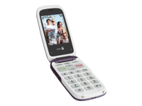 Doro PhoneEasy 612 Mobiltelefon microSD slot GSM 320 x 240 pixels 2 MP