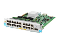 HPE - Expansion module - Gigabit Ethernet (PoE+) x 20 + 40 Gigabit QSFP+ x 1 - for HPE Aruba 5406R, 5406R 16, 5406R 44, 5406R 8-port, 5406R zl2, 5412R, 5412R 92, 5412R zl2
