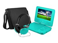 "Ematic EPD707 - DVD player - portable - display: 7"" - teal"