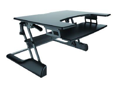 NewStar NS-WS100BLACK - Nástavec na stůl - černá