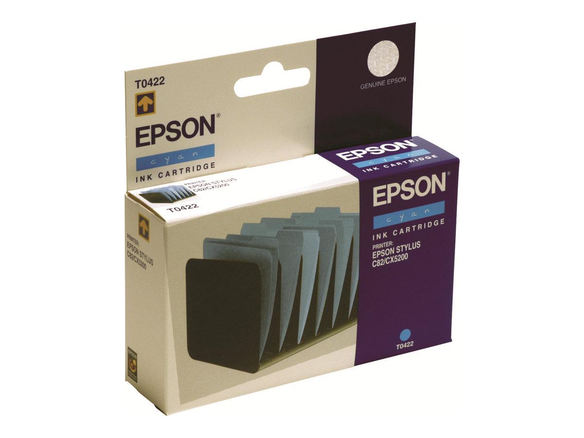 Epson T0422 - cyan - originale - cartouche d'encre