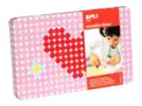 APLI kids Heart - jeu complet d'adhésif de décoration