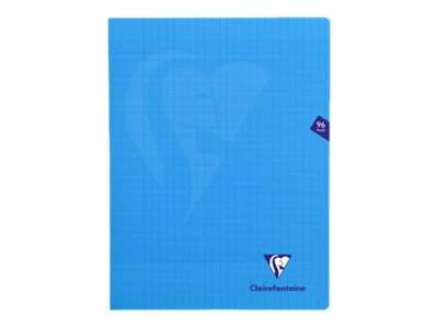 Clairefontaine MIMESYS - Cahier - A4 + - 24 x 32 cm - 48 feuilles / 96 pages - Seyès - incolore