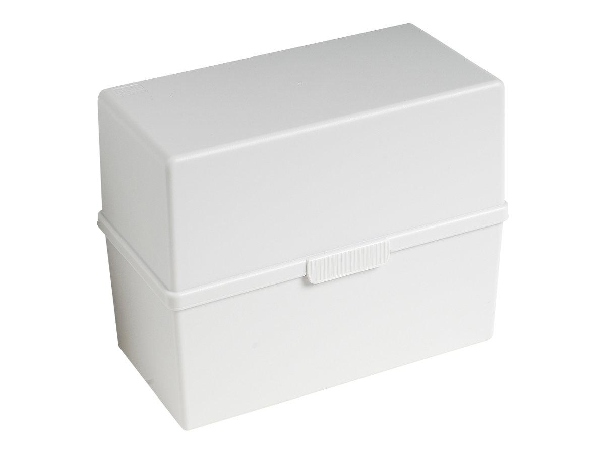 Exacompta - Boîte à fiches - A6 - gris