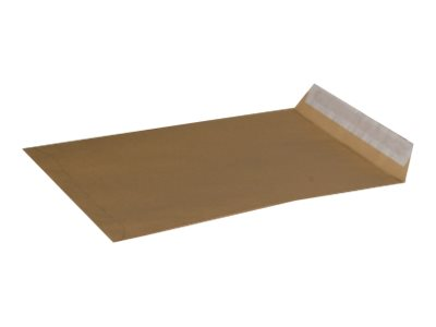 GPV ÉCONOMIQUE - Enveloppe kraft - 162 x 229 mm - autocollant - brun - pack de 500