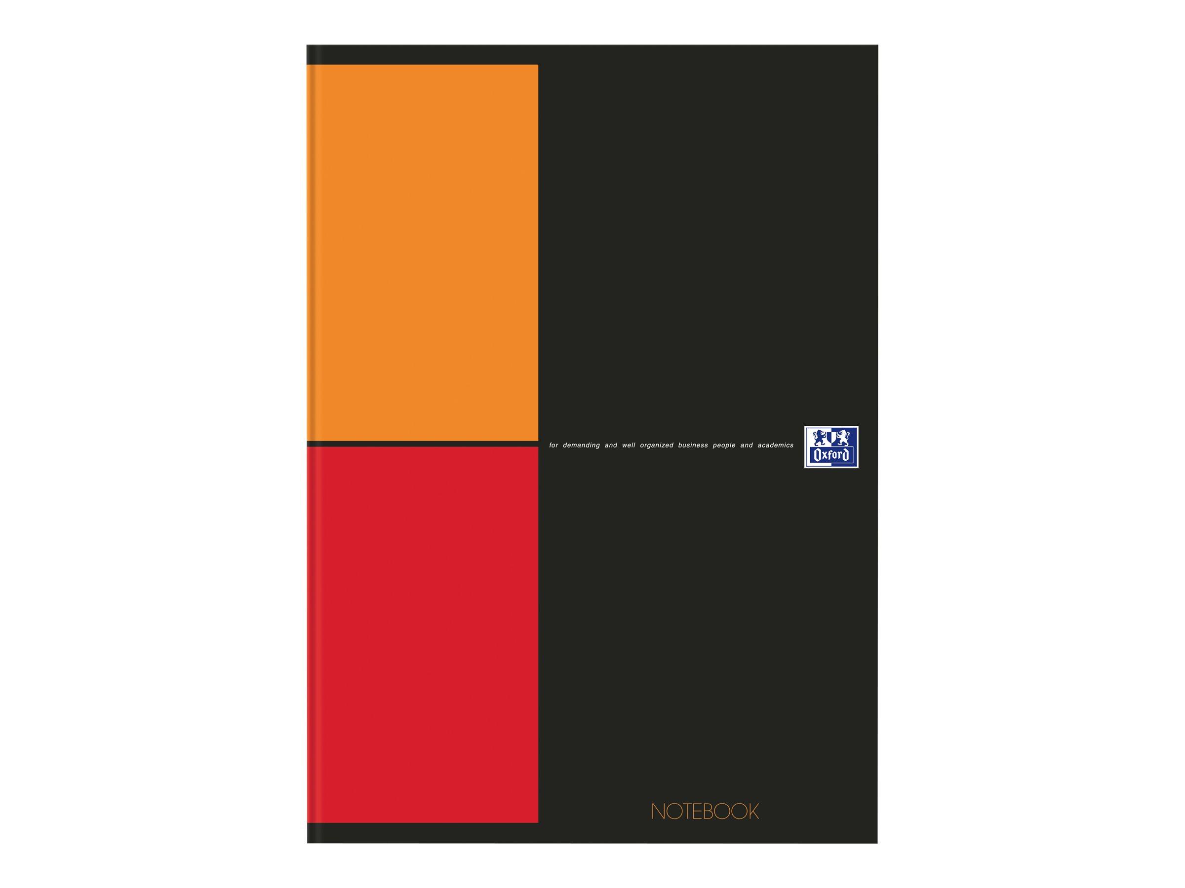 Oxford - Notebook - A4 - 160 pages - quadrillé - 5x5 - gris