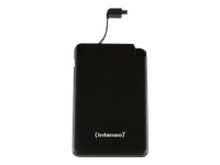 Intenso Slim S5000 Strømbank 5000 mAh 2.1 A (Micro-USB Type B) sort