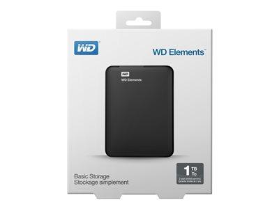 WD ELEMENTS Almacenamiento portátil WDBUZG0010BBK