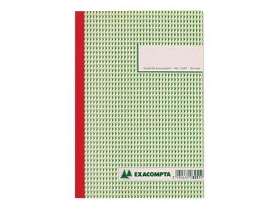 Exacompta - 10 Carnet de reçus - 50 pages - 210 x 148 mm - en triple